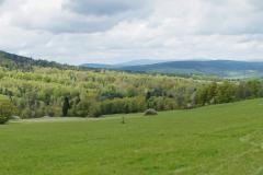 Panorama z górnej drogi