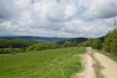 Widok z górnej drogi