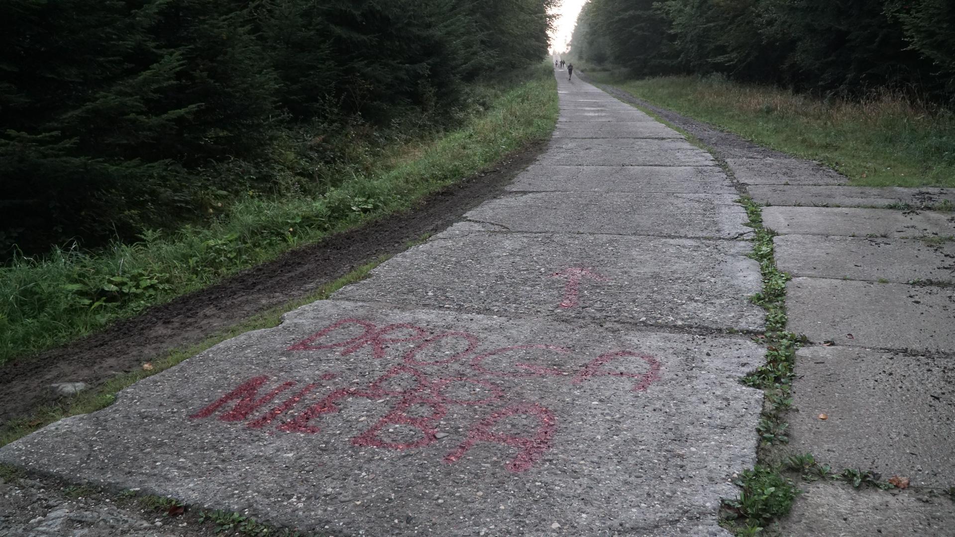 Betonowa droga Izby-Mochnaczka